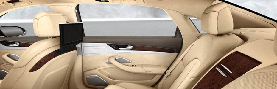 Audi A8 L - интериор