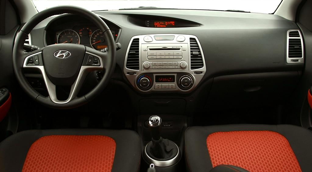 Интериор на Hyundai i20